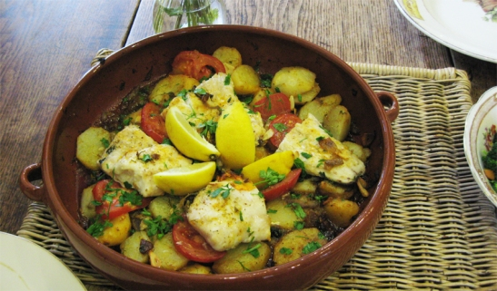 Merluza Galician Hake, my fish recipe